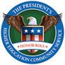 Seal for The President's Higher Education Community Service